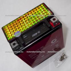 Bateria YTX7L-BS Gel (12V-6Ah) - - - Italika TX200 / DM200 / DM250 – Rebel 250 / Nighthawk / Bros - Kawasaki Ninja 250 / Sherpa