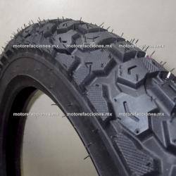 Llanta para Motocicleta 3.50-18 - (8 capas) - Gajo Grande