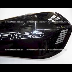 Tanque de Gasolina Italika FT125 / Forza 125 - Honda CG125 (Negro)