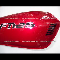 Tanque de Gasolina Italika FT125 / Forza 125 - Honda CG125 (Rojo)