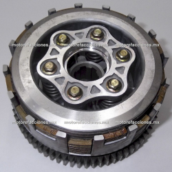 Clutch Completo Italika 250Z (1 solo pistón) - Version 2