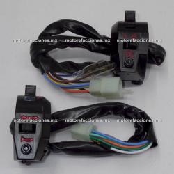 Mandos - Italika FT125 / FT125 Sport - (2 piezas)