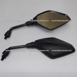 Espejos Italika VORT-X 200 / VORT-X 300 - 10 mm (par)
