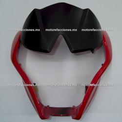 Cubierta de Faro Italika 250Z (rojo)