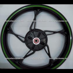 Rin Trasero Italika 150Z - (Negro Mate)
