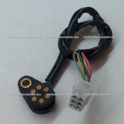 Sensor de Velocidades Motocicleta (1 tornillo) - Italika FT125 / RT200