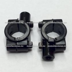 Soportes Universales p/ Espejos (8mm)