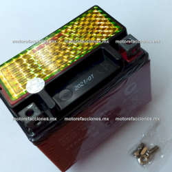 Bateria YTX4L-BS - Gel - (12V-3Ah) - - - Italika T-REX70 - Yamaha Mint / CE50 - Honda Aero 50 / C90