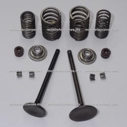Valvulas Completas Yamaha FZ16 / ZR150 / SZ / Faser 150
