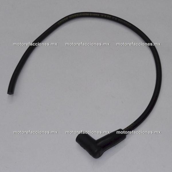 Cable de Bujia y Capuchon para Motoneta (Capuchon 90°)