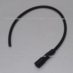 Cable de Bujia y Capuchon para Motocicleta (Capuchon Recto)