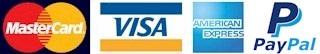 Bienvenidas: Master Card, Visa y American Express